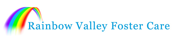 rainbow valley foster care logo